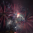 4th of July Fireworks Portland Oregon 2013 — Stock Photo
