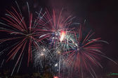 4th of July Fireworks Portland Oregon 2013 — Stock Photo