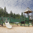 Childrens Playground at Lake Merwin Park — Stock Photo