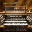 Church Pipe Organ Keyboards — Stock Photo