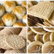 Southeast Asian Cookies and Pastry Collage — Stock Photo