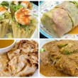 Southeast Asian Singapore Local Food Collage — Stock Photo #28910683
