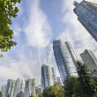 Vancouver BC Downtown Waterfront Condominiums — Stock Photo #31280013