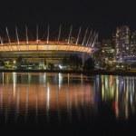 Vancouver BC City Skyline Night Scene Panorama — Stock Photo #31324309