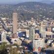 Portland Oregon Downtown Cityscape Panorama — Stock Photo