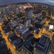 Vancouver BC Downtown Fisheye View — Stock Photo #32154517