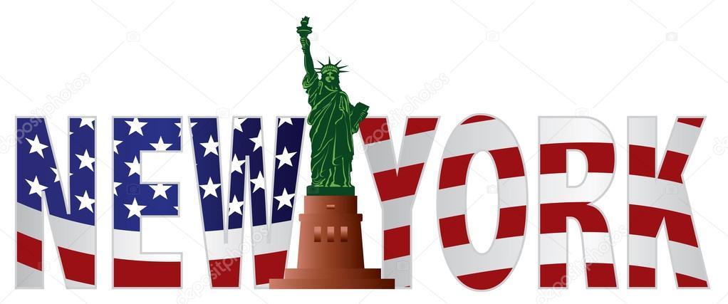 new york texte nous esquisser drapeau en couleur image vectorielle jpldesigns 32839951. Black Bedroom Furniture Sets. Home Design Ideas