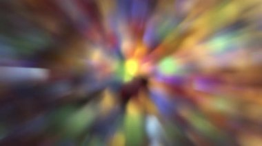 Abstract Colorful and Sparkly Moving Out of Focus Bokeh Background 1920x1080 — Stock Video