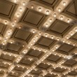 Stock Photo: Old Theater Marquee Ceiling Lights