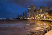 Gurney Drive Penang at Blue Hour — Stock Photo
