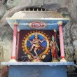 Shrine with Statue of Hindu God Shiva Nataraja — Stock Photo