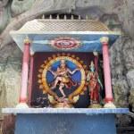 Shrine with Statue of Hindu God Shiva Nataraja — Stock Photo #41290317