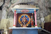 Shrine with Statue of Hindu God Shiva Nataraja — Stockfoto