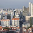Singapore Cityscape with Chinatown — Stock Photo