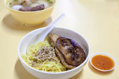 Singapore Yong Tau Foo Noodles — Stock Photo