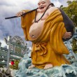Stock Photo: Ho Tai Laughing BuddhStatue at Haw Par Villa