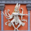 Nataraj Dancing Shiva Wall Relief Statue — Stock Photo