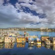 Victoria BC Fishermans Wharf — Stock Photo #42557493