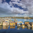 Victoria BC Fishermans Wharf — Stock Photo