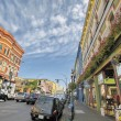 Lower Johnson Street Shopping District — Stock Photo #44695859
