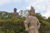 The General Makura at Ngong Ping — Stock Photo