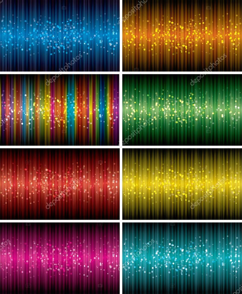 Bokeh Background Vector Vector Abstract Bokeh