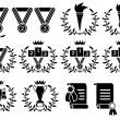 Royalty-Free Stock Vector Image: Sports symbol set(vector, CMYK)