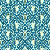 Elegant seamless wallpaper — Stock Vector