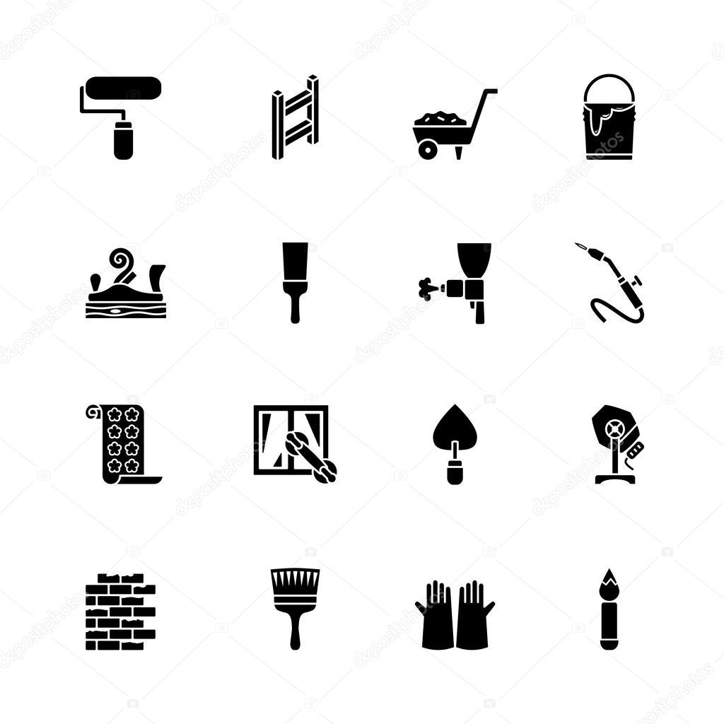 计算机图标集 — 矢量图片作者 ippon
