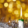 christmas candle&quot — Stock Photo #12795218