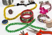 Fashion jewellery — Stock Photo