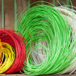 Multicoloured string — Stock Photo