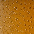 Drops of water on the glass — Stock Photo