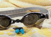 Swimming goggles — Stock Photo