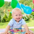 Stock Photo: Babys birthday