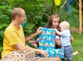 Babys birthday — Stock Photo