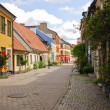 Side street in Malmo — Stock Photo #31626727