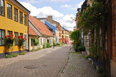 A side street in Malmo — Stock Photo