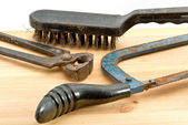 Old used tools — Stock Photo