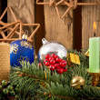 Christmas Candles — Stockfoto #36355913