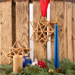 Christmas Candles — Stockfoto