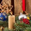 Christmas Candles — Stock fotografie #36357091