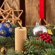 Christmas Candles — Stockfoto #36357091