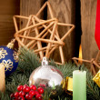 Christmas Candles — Stockfoto #36357255