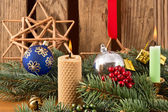 Christmas Candles — Stock Photo