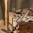 Old tools — Stock Photo