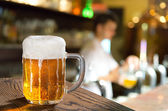 Pint In Pub — Stock Photo