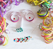 Face Of Carnival Decoration — Stock Photo