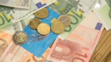Euro Money — Stock Video