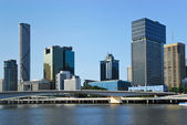 Brisbane central business district — Stock Photo
